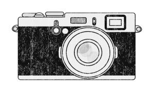 b&w camera