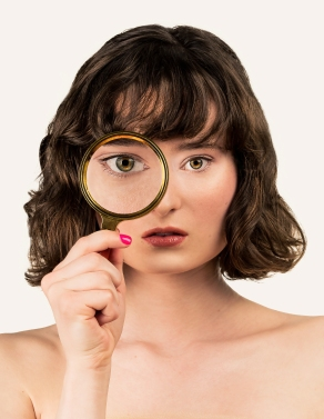 Volk Beauty Magnifying Glass-102AS